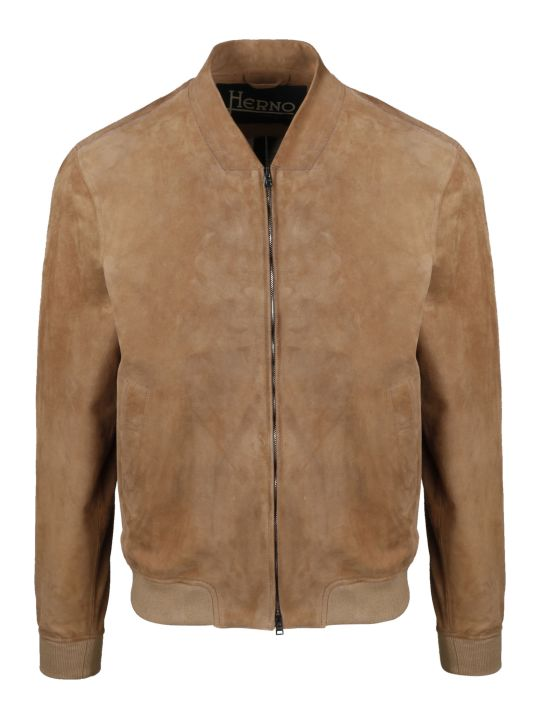 Herno Suede Bomber