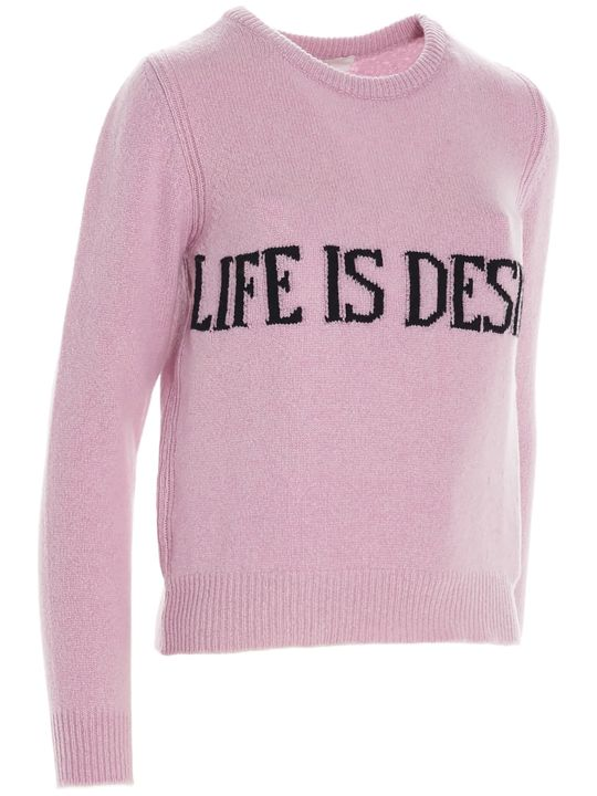Alberta Ferretti 'life Is Desire' Sweater