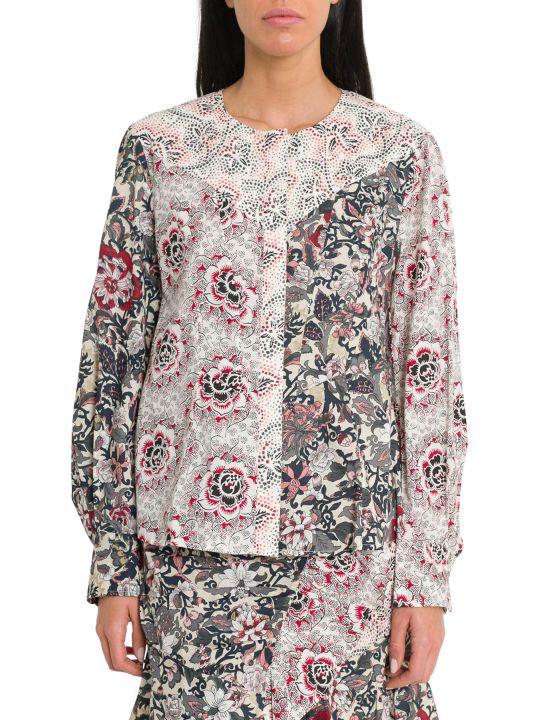 Isabel Marant Étoile Loris Patchwork Shirt