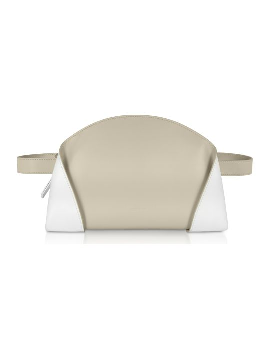 Giaquinto Egret White Freya Belt Bag