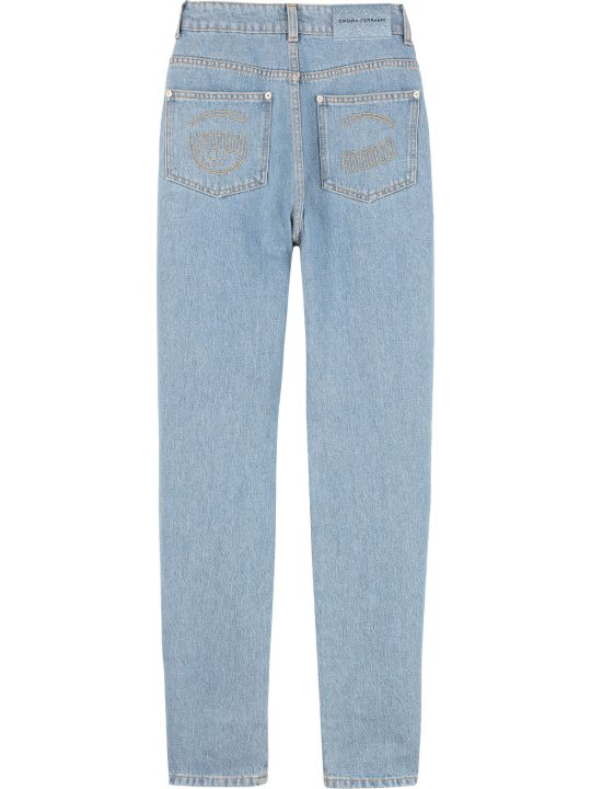 Chiara Ferragni Five Pocket Straight-leg Jeans