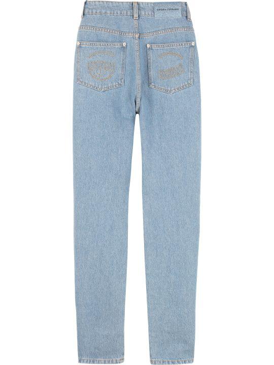 Chiara Ferragni Five Pocket Straight-leg Jeans
