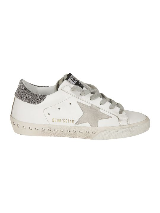 Golden Goose Crystal Super Sneakers