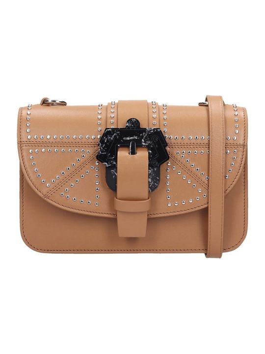 Paula Cademartori Shoulder Bag In Leather Color Leather