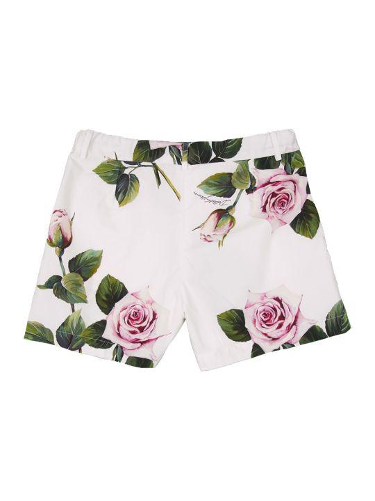 Dolce & Gabbana Tropical Rose Shorts