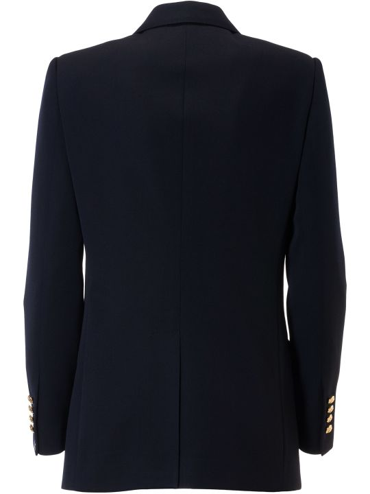 Celine Double-breasted Blazer
