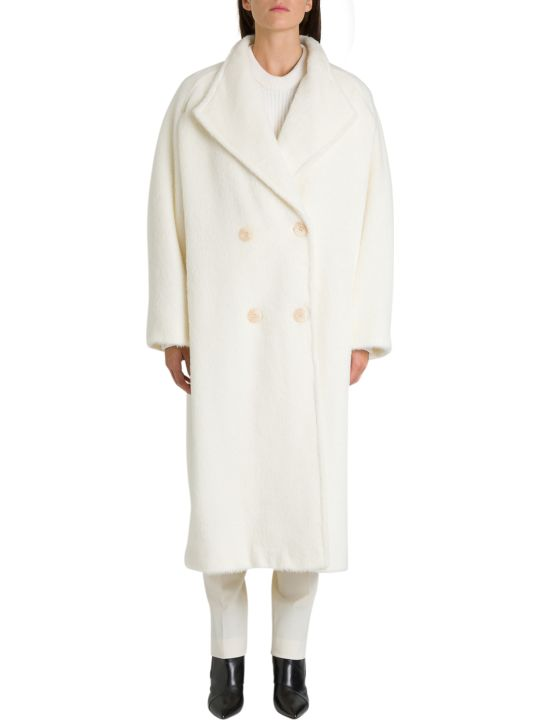 Alberta Ferretti Oversized Double-breasted Coat