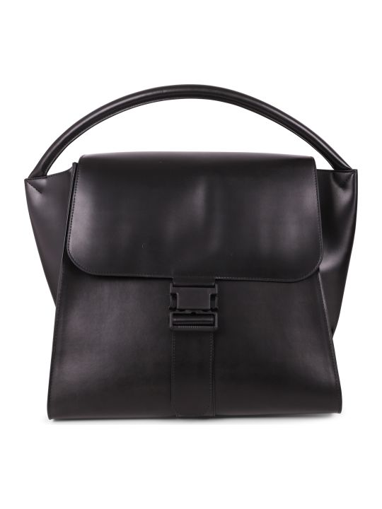 Zucca Black Buckled Bag L
