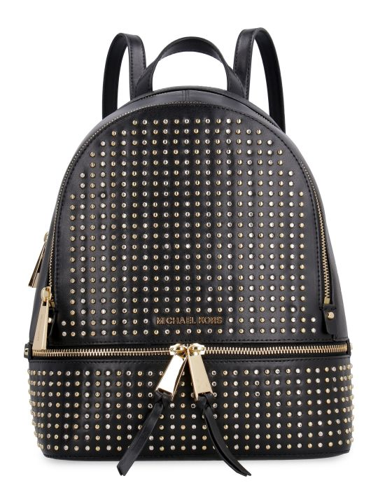 MICHAEL Michael Kors Rhea Studded Leather Backpack