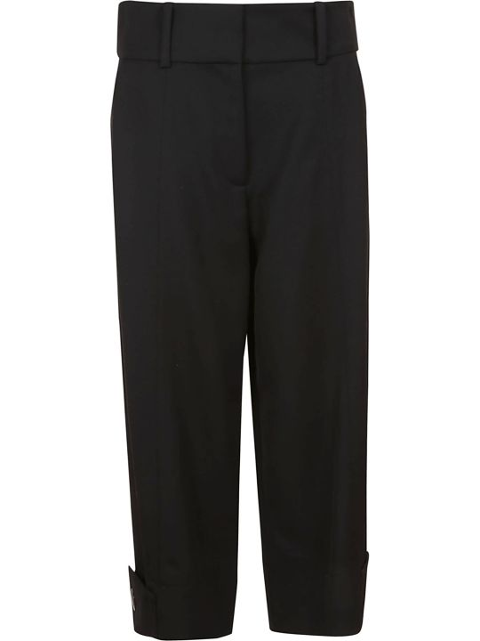 See by Chloé Wide Leg Cropped Trousers