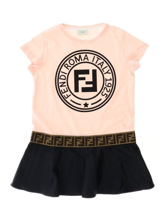 Fendi Fendi Stamp T-shirt Dress