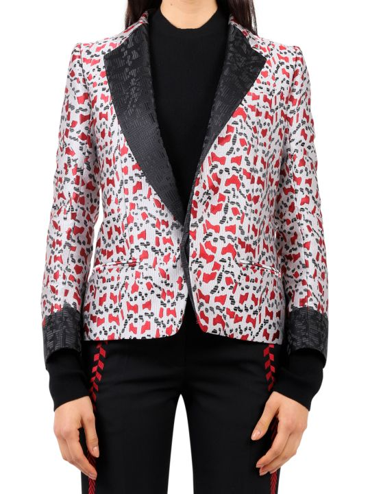Haider Ackermann Patterned Blazer