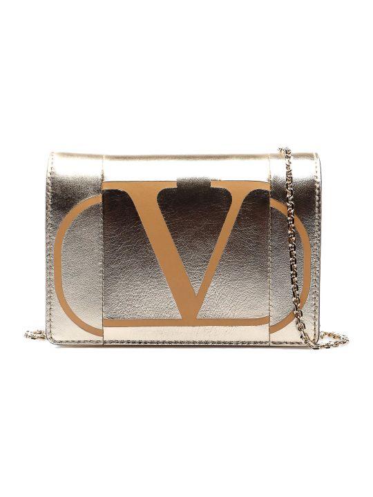Valentino Garavani Logo Chain Crossbody