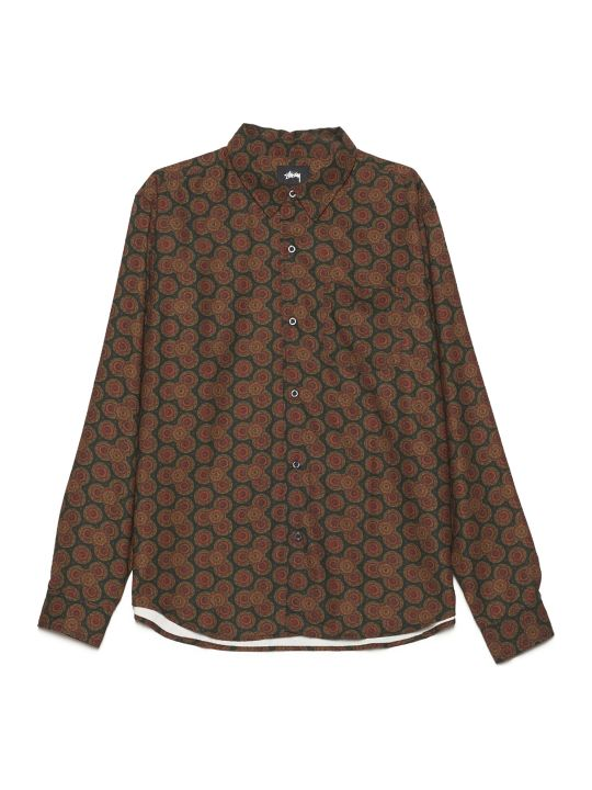 Stussy 'curcle Paisley' Shirt