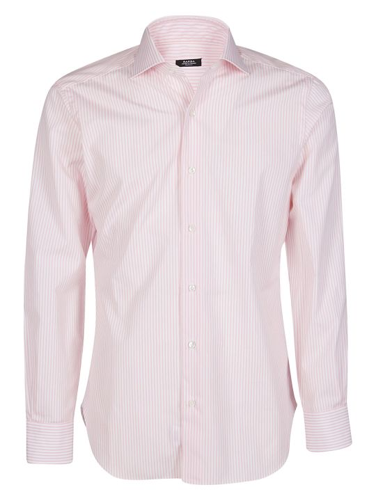 Barba Napoli Striped Tailored Shirt