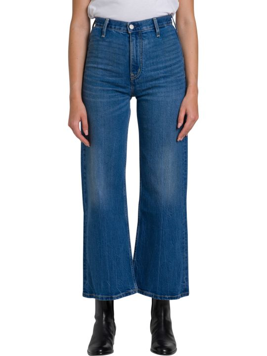 Calvin Klein Jeans Wide Leg Ankle Jeans