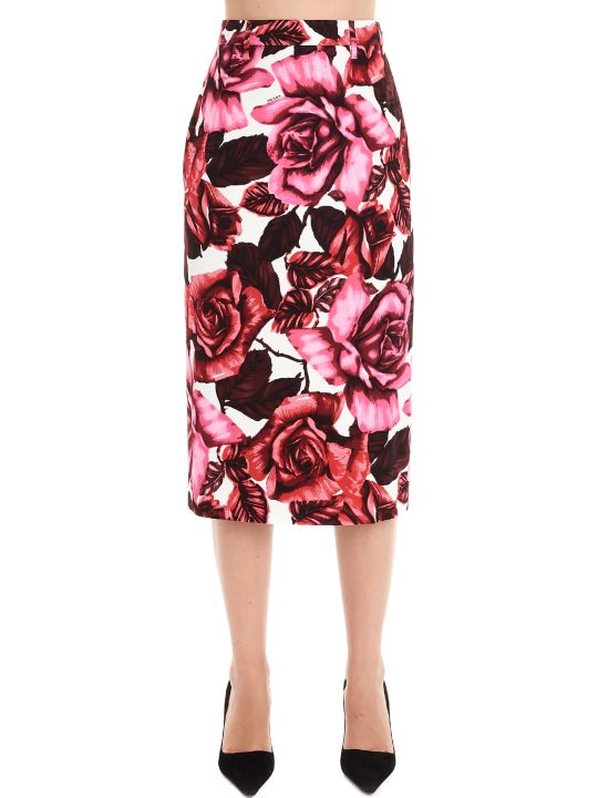 Prada 'roses' Skirt