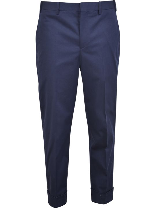 Neil Barrett Blue Trousers