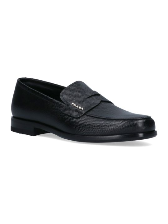 Prada Saffiano Loafers