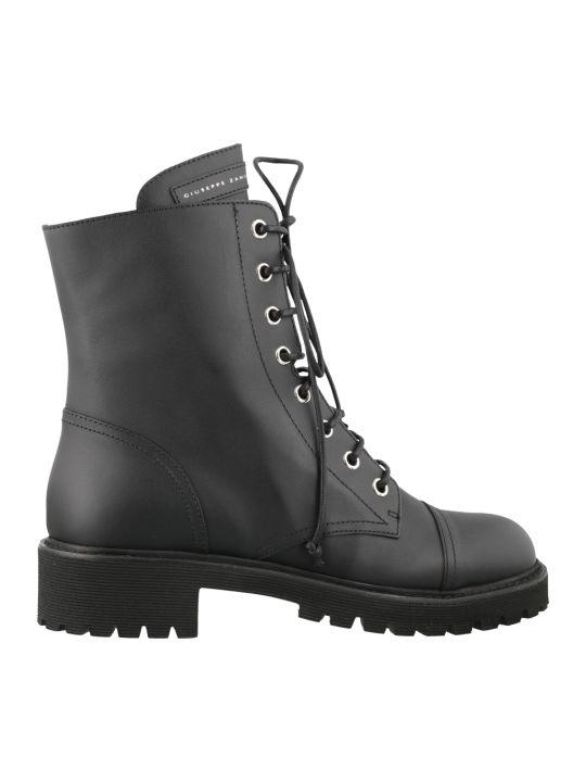 Giuseppe Zanotti Thora Combat Boots