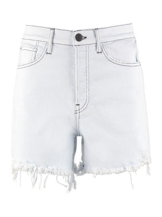 3x1 High-rise Cut-off Denim Shorts