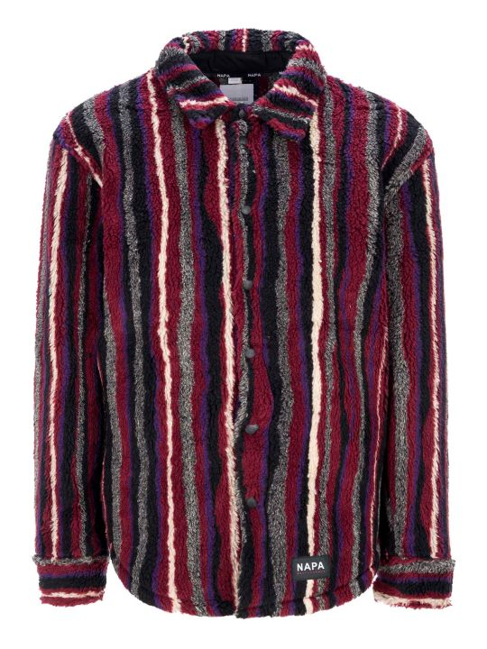 Napa By Martine Rose Napa By Martin Rose Striped Shirt Jacket