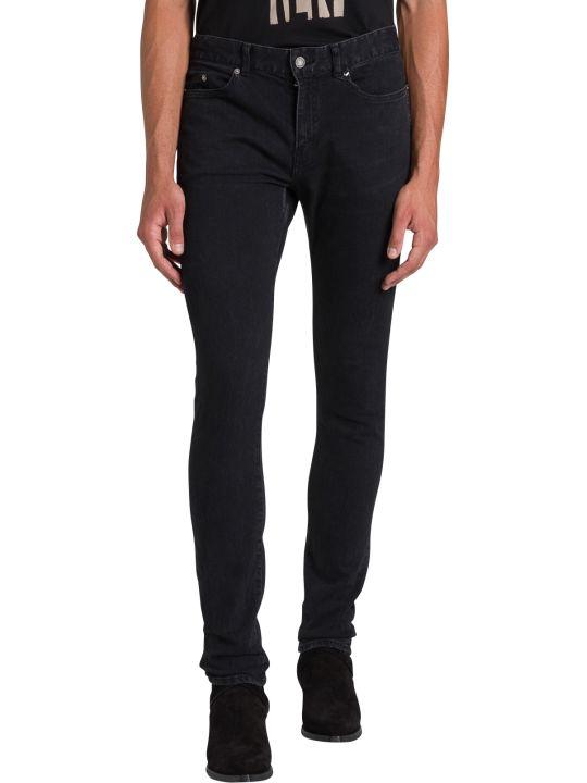 Saint Laurent Jeans Skinny A Vita Bassa
