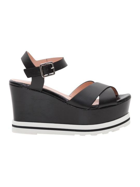 Pollini Wedge Sandals
