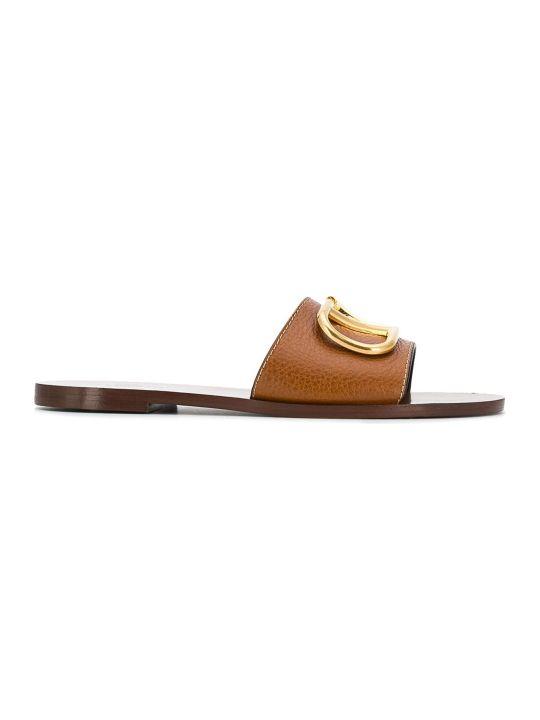 Valentino Garavani Vlogo Slide Sandal