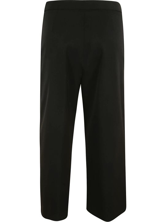 Versace Wide-leg Cropped Trousers