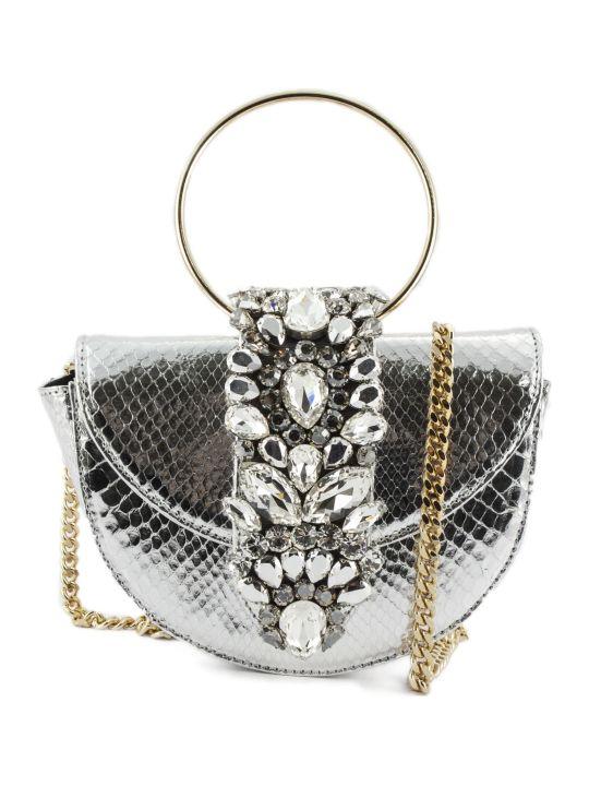 Gedebe Brigitte Python Halfmoon Shoulder Bag