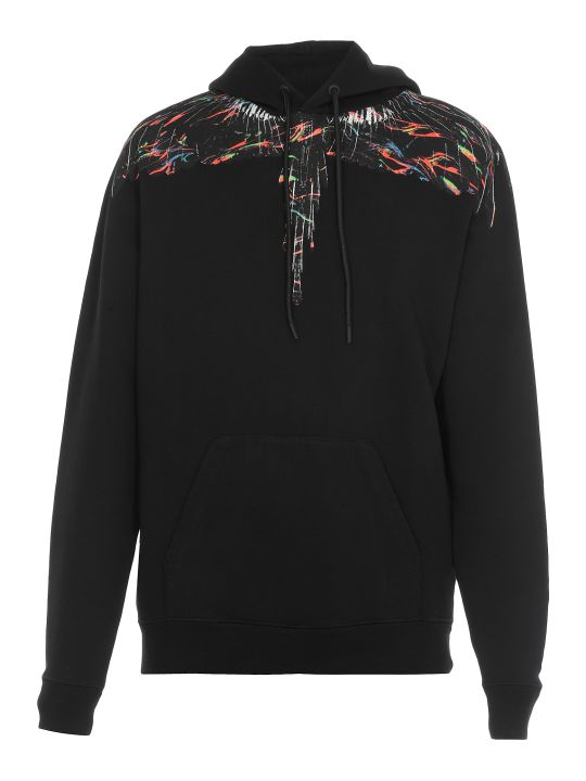 Marcelo Burlon Fluo Lights Wings Sweatshirt