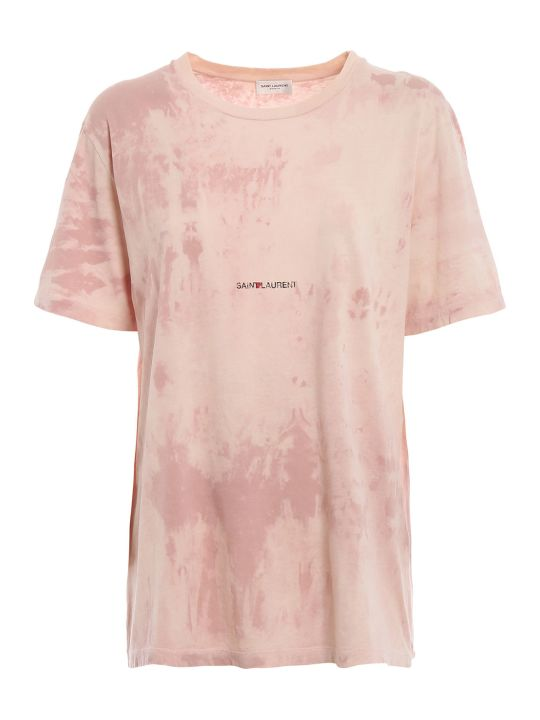 Saint Laurent Tie-dye T-shirt