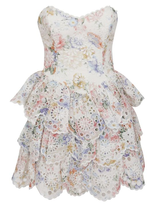 Zimmermann Bowie Ruffle Dress