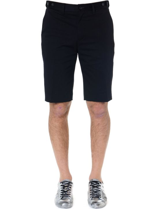 Calvin Klein Black Cotton Shorts