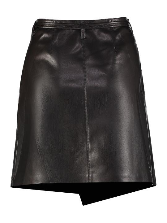 Nanushka Faux Leather Mini Skirt
