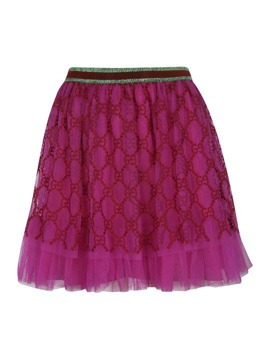 Gucci Iconic Gg Mini Skirt