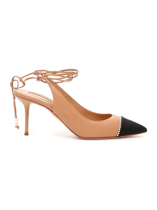 Aquazzura Mystique Slingbacks