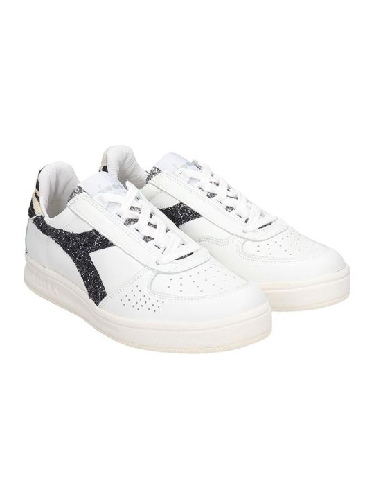 Diadora B.elite Sneakers In White Leather