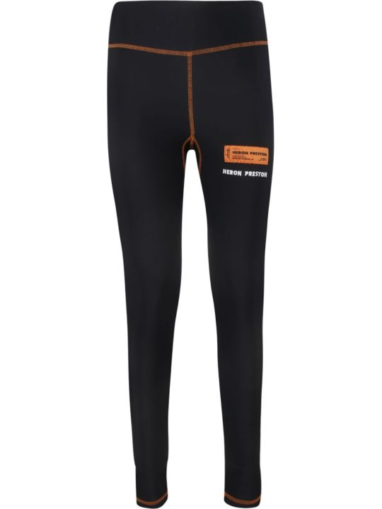 HERON PRESTON Branded Ticket Leggings