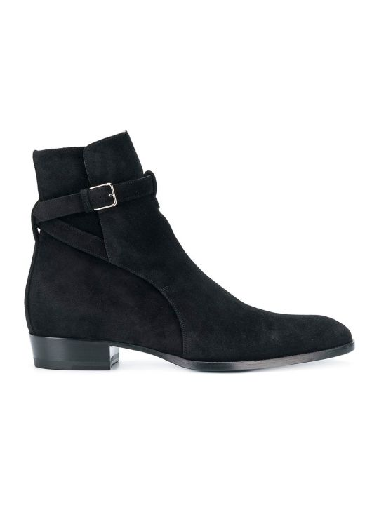 Saint Laurent Wyatt Jodhpur Bootie