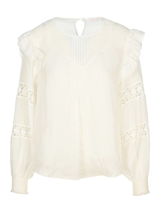 See by Chloé See By Chloe' Lace Insert Blouse