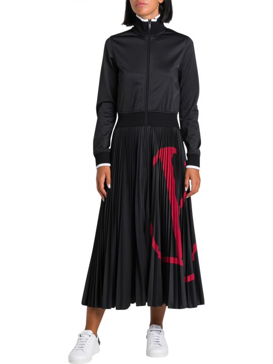 Valentino Vltn Zip Dress