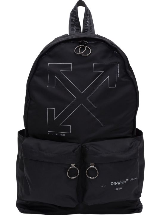 Off-White Unfinished Backpack