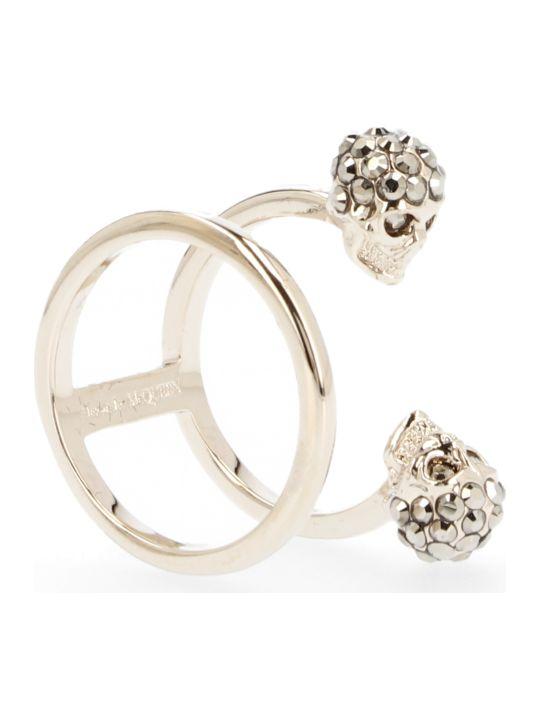 Alexander McQueen 'double Skull' Ring