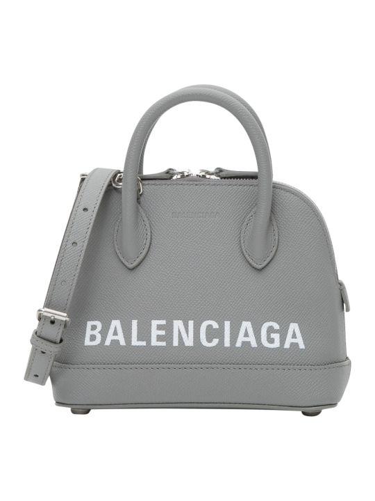 Balenciaga Ville Top Handle Xxs Wih Allover Logo