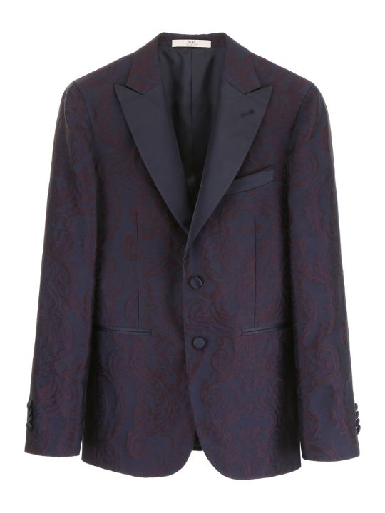 CC Collection Corneliani Brocade Jacket