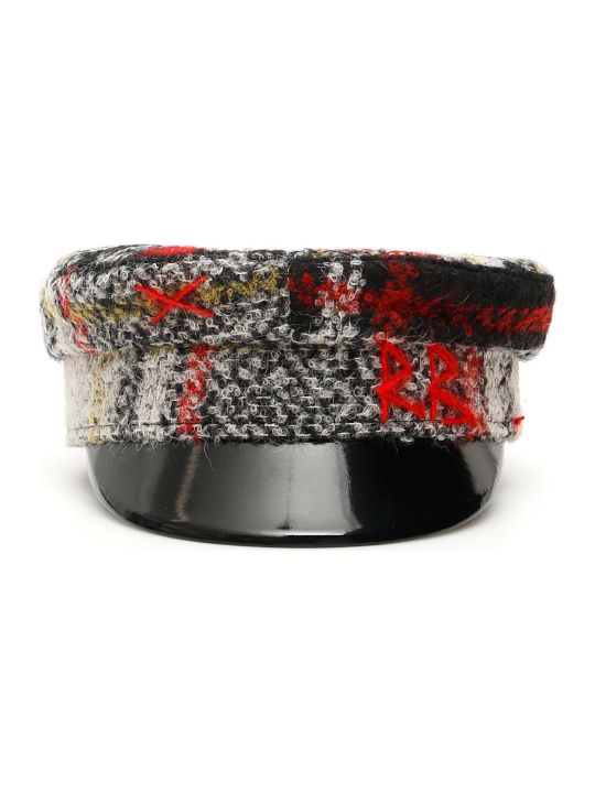 Ruslan Baginskiy Baker Boy Tartan Hat