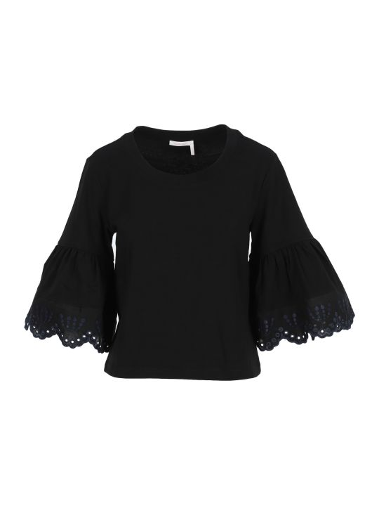See by Chloé See By Chloe' Long Sleeve Tshirt