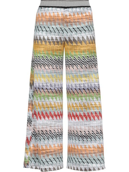 Missoni Knitted Multicolor Pants